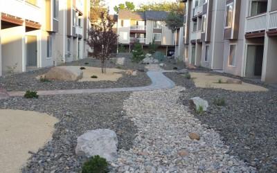 Apartment Community Landscape Renovation – Complete